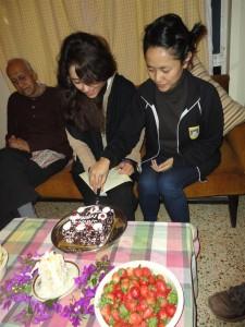 Tenzin ir Sanaz gimtadienis.